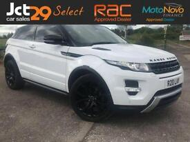 2012 LAND ROVER RANGE ROVER EVOQUE 2.2 SD4 DYNAMIC LUX + BUY FROM £102 PER WEEK