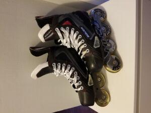 Bauer X40R Inline Skates- Size US 6