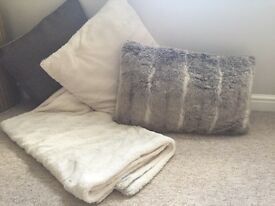 For Sale Cushions and Throw