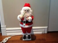 Père Noel qui bouge et musical