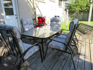 Beautiful Patio Set, 6 reclining chairs West Island Greater Montréal image 3