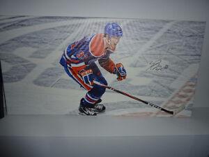 Ryan Nugent-Hopkins Signed Canvas Print