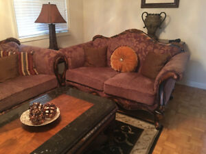 COMPLETE FURNITURE PACKAGE FOR LIVING ROOM -MOVING SALE!