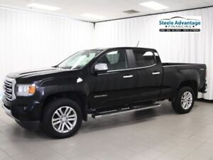 2015 Gmc Canyon SLT - Heated Leather, Bluetooth, V6 Powered and