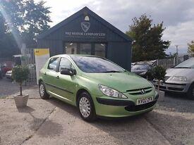 Peugeot 307 2.0 HDI 90 STYLE (green) 2002