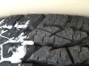 A pair (2) Tires LT245/75R16  like new condition  350 obo