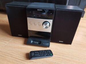 Mini chaîne stéréo Sony MP3 CD