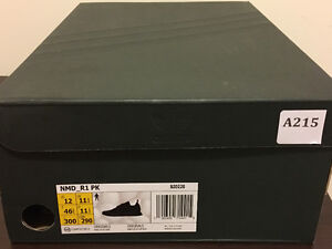 NEW NMD R1 JAPAN TRIPLE BLACK SZ. 12 DEADSTOCK