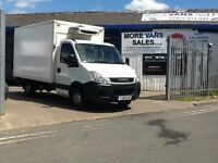 2011 1 owner ex Asda iveco daily 3.5t fridge van 2.3 diesel 15ft chassis cab not recovery truck