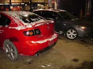 !! ALL PARTS AVAILABLE 06 AND 07 MAZDA 3 !!