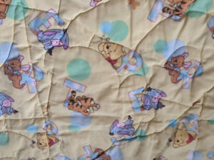 embossed teddy quilt Winnie the Pooh & other blankets Kingston Kingston Area image 7