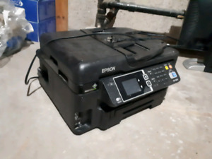 Used Epson WF-3620 all in 1 printer