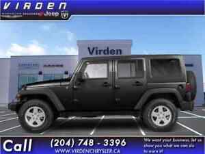 2011 Jeep Wrangler Unlimited Saraha 4D Utility 4WD **GREAT SHAPE