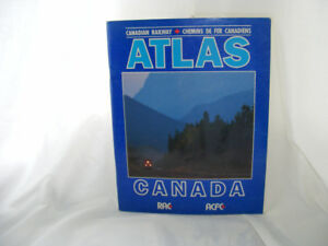 Canadian National Railway Atlas and Pin