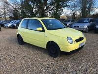 2002 Volkswagen Lupo 1.7 SDI 12 Months MOT Service History Low Milage