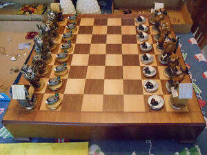 Ducks Unlimited Chess Set