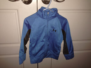 Under Armor track jacket Size 24mos $5