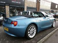 2004 BMW Z4 2.2i SE Roadster 2DR 54 REG Petrol Blue