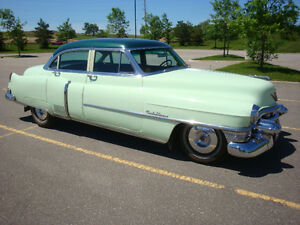 1953 Cadillac series 62 4 dr sedan