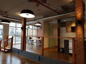 Office space for lease - shared office environment