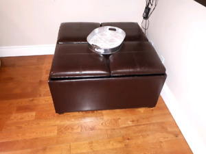 Storage bench/coffee table