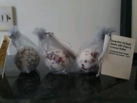 3 Bath Oil melts: Lavender, Shea & Cocoa Butter