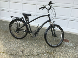 Men's Electra Townie 21 speed bike.