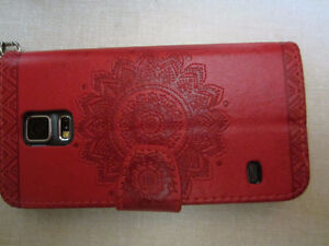 iphone case color RED for SamsungS5