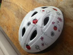 Girls bicycle helmet.