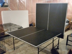 Ping pong / table tennis table and accessories