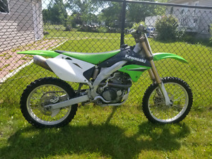 Kawasaki kx450-no trades-no low ballers-serious offers only.