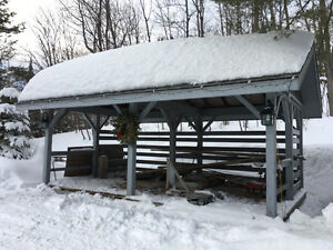 Extremely Well Built Wood Shed  NEED GONE!!!!