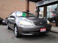 2004 Toyota Corolla AUTO,AIR,NO ACCIDENT,POWER LOCKS.$3899