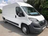 2015 Citroen Relay 35 L3H2 Enterprise Hdi l Van with just 5000 miles from new