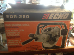 (sold) Echo Gas Drill- model EDR 260