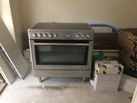 FLAVEL STAINLESS STEEL 90cm ELECTRIC COOKER