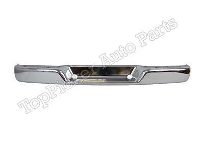 Rear Bumper Face Bar Chrome Fit 1996-2015 Chevy Express Gmc Svana 1500 2500 3500