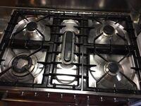 Britannia dual fuel range cooker.