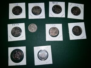 50 cents coins for sale or trade