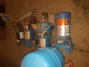 Water well jet pumps