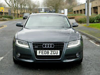 2008 08 Audi A5 3.0 TDi quattro Sport 2dr 4WD WITH LEATHER+XENONS+PARKING SENS