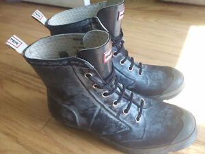 Hunter lace up boots. 50 OBO Peterborough Peterborough Area image 1