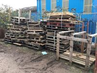Firewood! Old Pallets And Scaffold Board Off Cuts