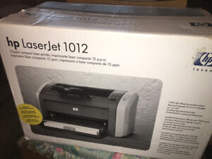 Brand New HP Lazer Printer,  never used.  Text 250-667-5188