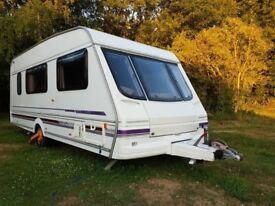 Swift Challenger 520 4 Berth End Washroom 1998 Inc Awning