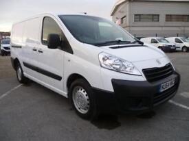 Peugeot Expert 1200 2.0 Hdi 130 H1 Van DIESEL MANUAL WHITE (2014)