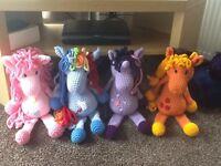 *** Handmade Crocheted My Little Ponys ***