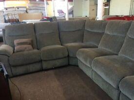 Laz-z-boy corner reclining sofa ex display model