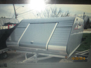 WANTED - Clam shell trailer