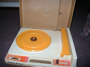 1970S FISHER PRICE REAL WORKING RECORD PLAYER